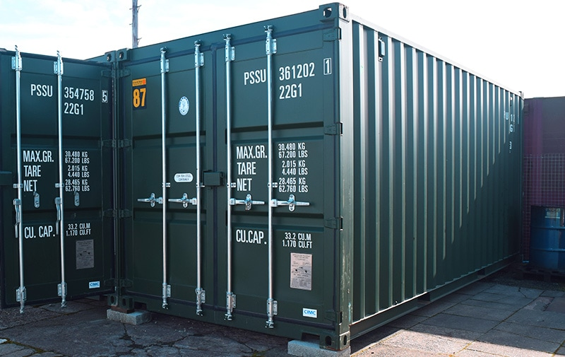 20ft storage container in fife